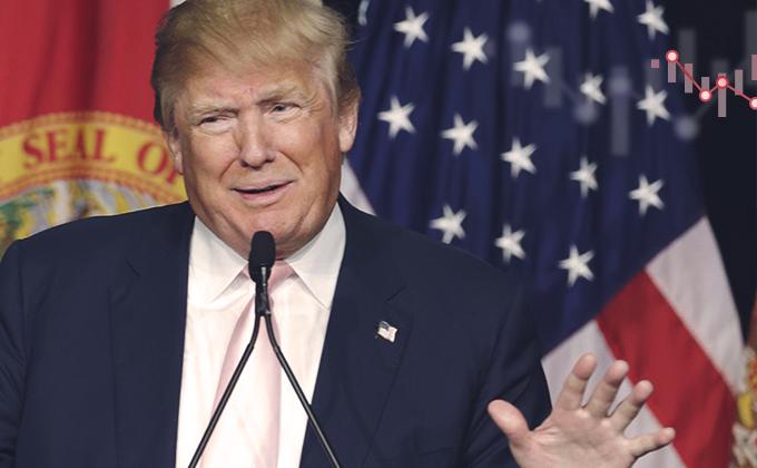 Trumpovo vítězství změnilo náladu na trzích. Ale...
