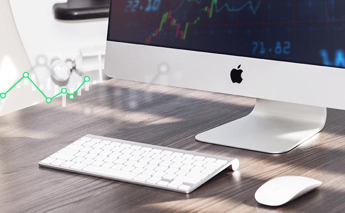 Cena akcií Applu je silně přestřelená