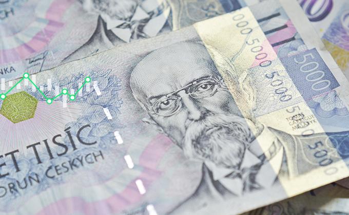 """Inflace v Česku se """"utrhla ze řetězu"""", zaskočila všechny, takže koruna posiluje k novému rekordu"""