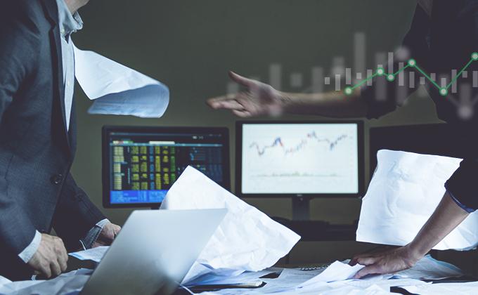 Globální akciové trhy zažívají nejhorší týden od globální finanční krize v roce 2008