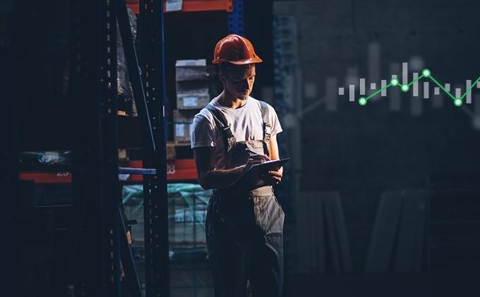 PMI ve zpracovatelském průmyslu za listopad 2020