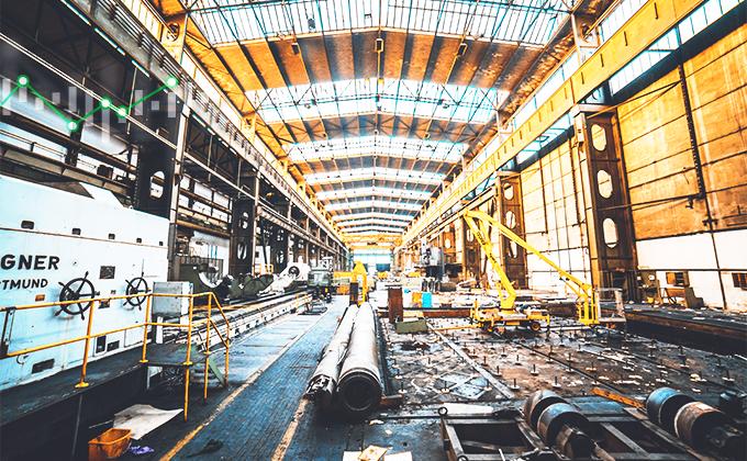 PMI ve zpracovatelském průmyslu za květen 2021